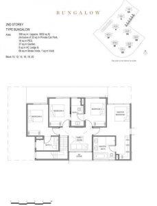 Parc Clematis Bungalow Floor Plan