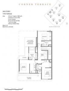 Parc Clematis Corner Terance Floor Plan