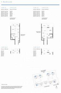 Parc Clematis Floor Plan 1 bedroom