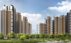 The biggest housing project is Bishan Ridges