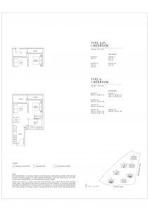 Parc Clematis Floor Plan 3 bedroom study